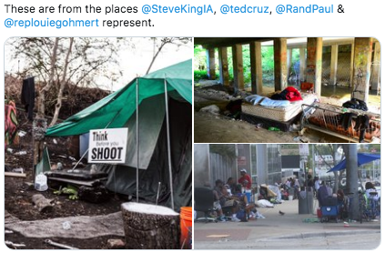 republican poverty districts homeless texas