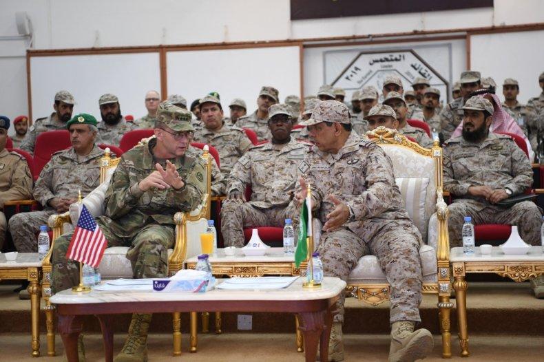 us saudi arabia military exercise
