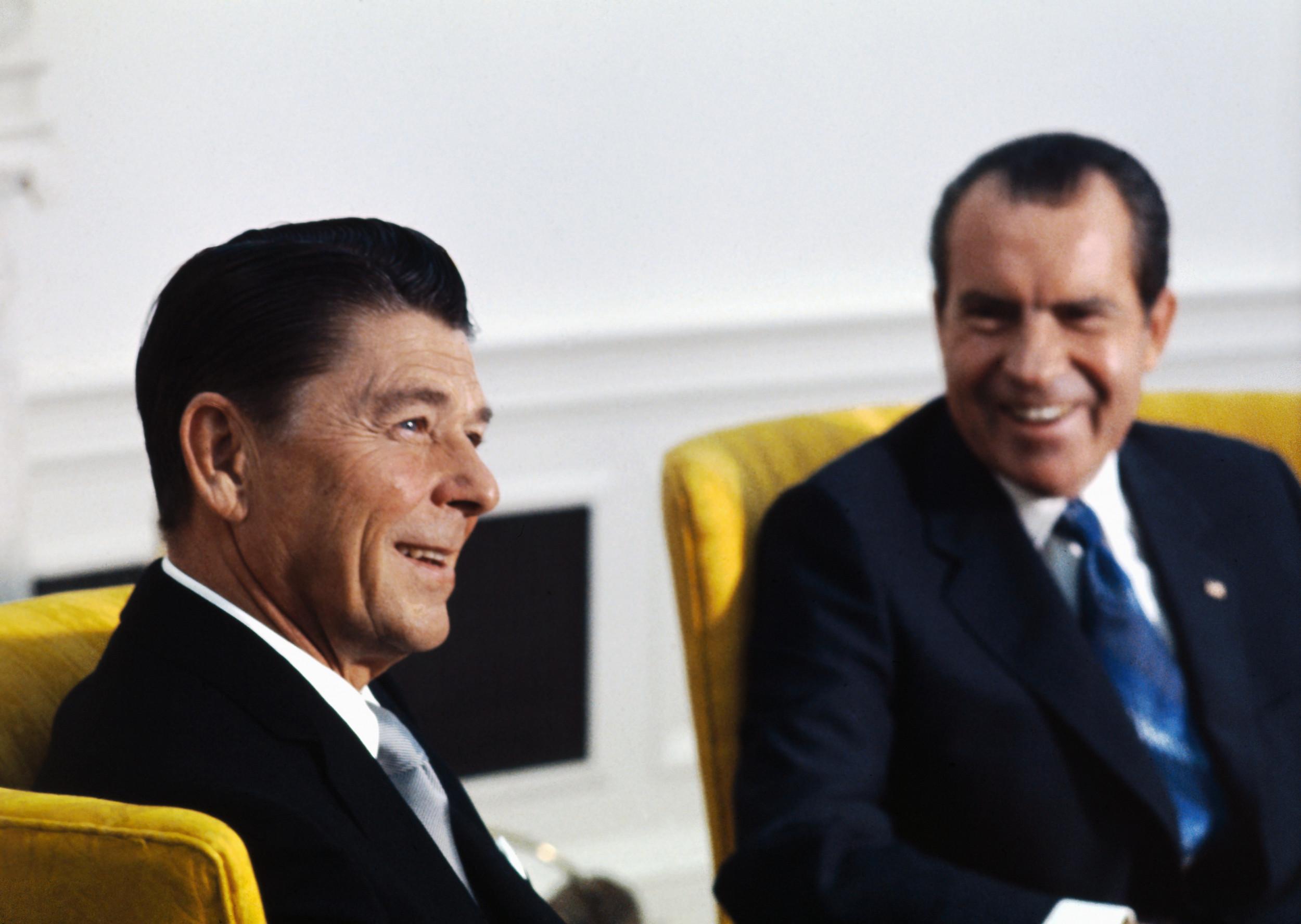 "Richard Nixon laughed as Ronald Reagan called African U.N. delegates ""monkeys... still uncomfortable wearing shoes"""
