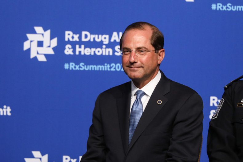 hhs secretary alex azar opioid summit