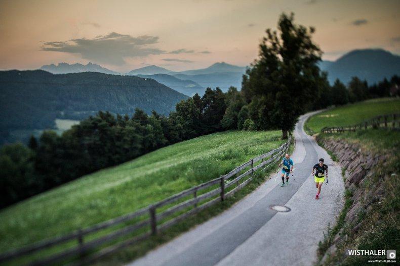 suedtirol ultraskyrace marathon lightning strike