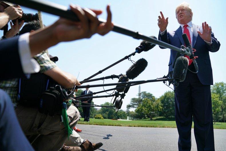 Donald Trump denies he's racist