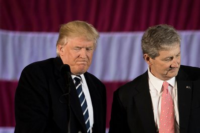 Donald Trump and John Kennedy