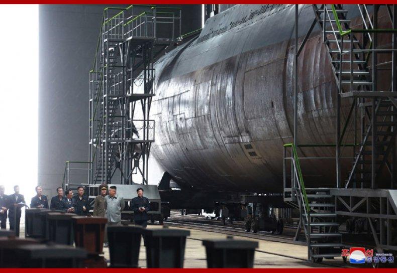 north korea kim jong un submarine