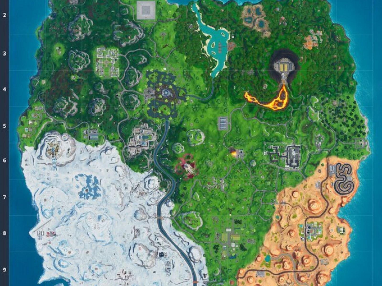 Fortnite Update 100 Adds New Season X Map Brute Patch