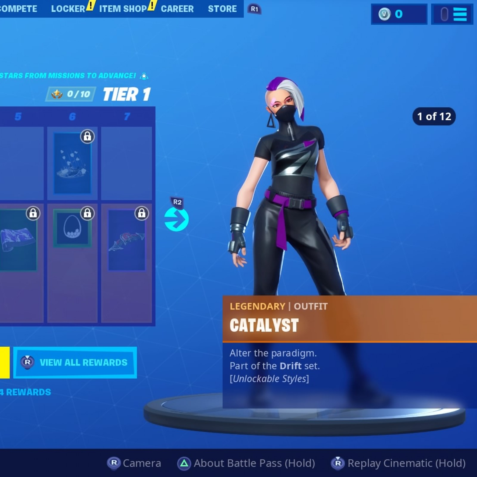 Fortnite Season 10 Battle Pass Skins To Tier 100 Yond3r Ultima Knight Catalyst