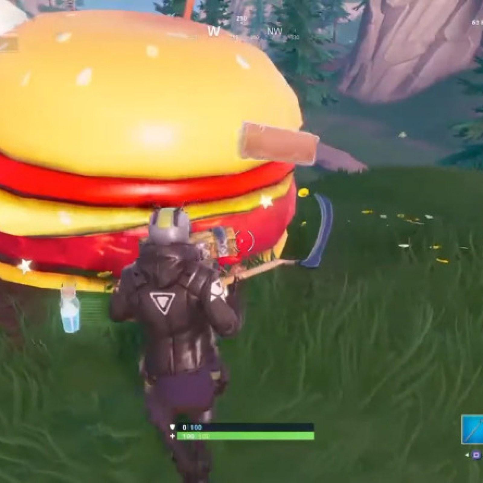 Fortnite Durrr Burger Head Dinosaur Stone Head Location