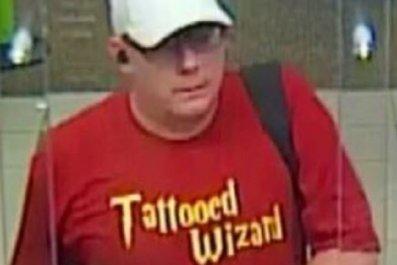 florida man tattooed wizard bank robbery