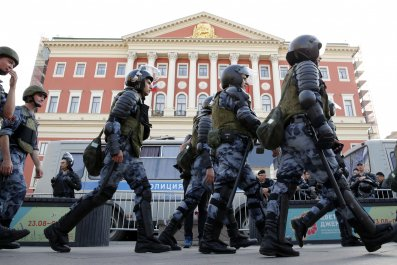 Moscow Riot Police