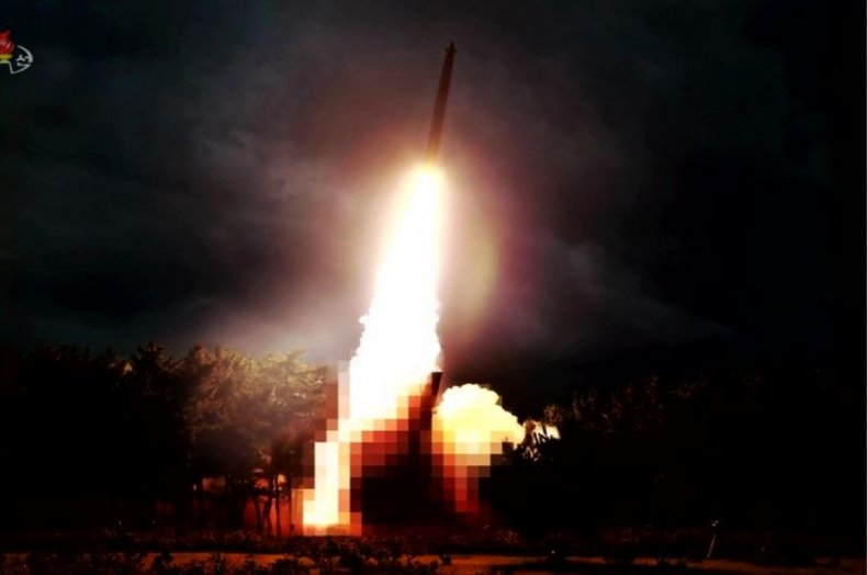 north korea weapons test launch