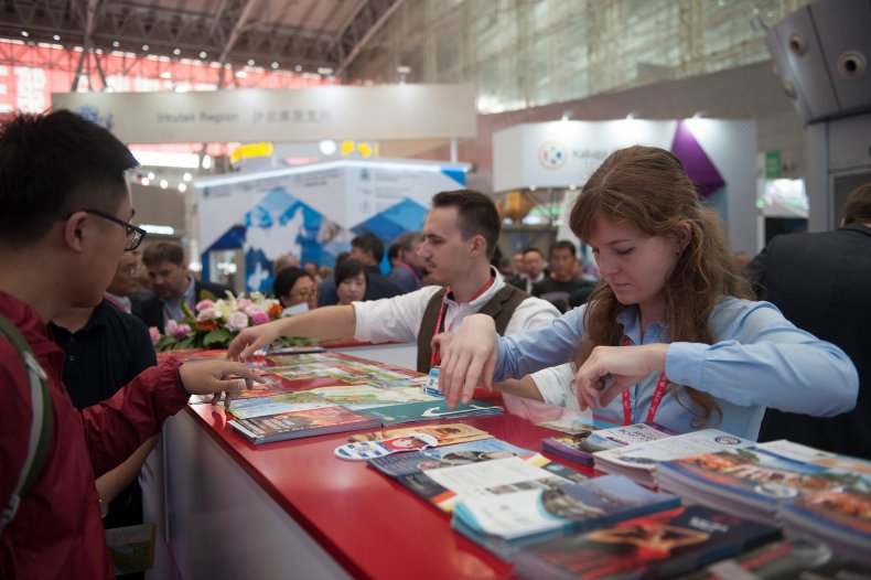 china russia expo trade business