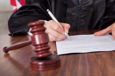 court room, judge