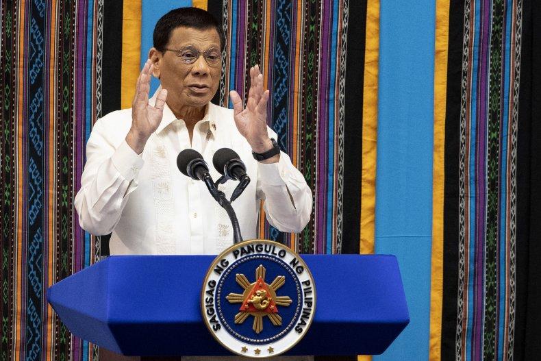 Rodrigo Duterte Philippines mocks fat senator