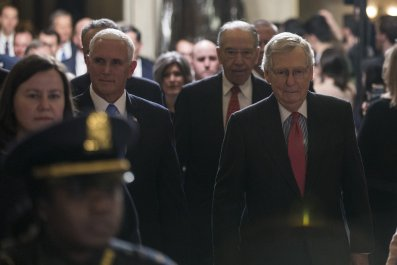 Grassley, McConnell, Pence