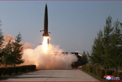 north korea missile test may