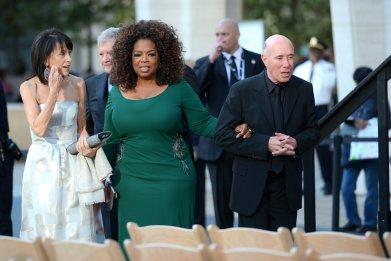 Oprah and David Geffen