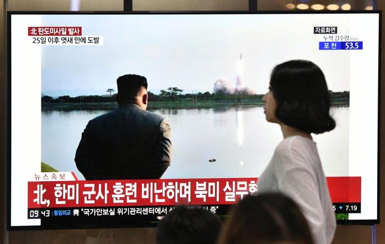 north korea south missile kim