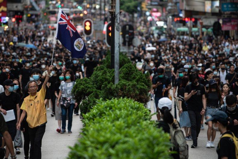 Hong Kong Protest Aug. 3