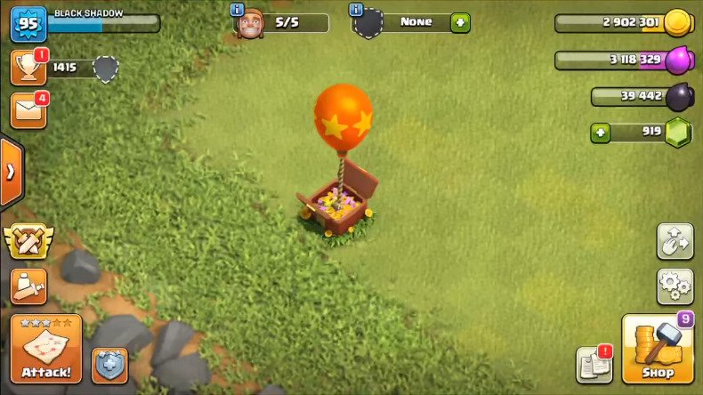 clash of clans 7th birthday surprise