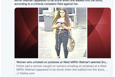 West Mifflin Police Grace Brown