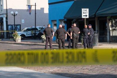 Dayton, Ohio, mass shooting, surveillance, police