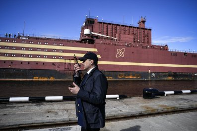 russia nuclear power plant ship
