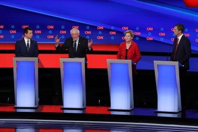 Democratic debate Bernie Sanders