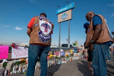 walmart won't stop gun sales after shootings