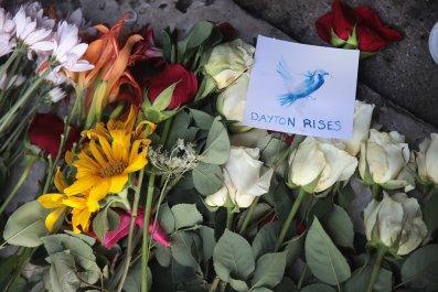 candice keller dayton shooting ohio democrats resign