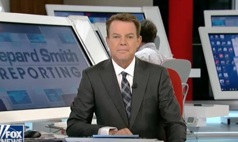 Fox News host Shepard Smith