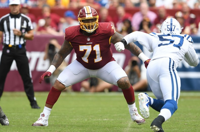 Trent Williams, Washington Redskins
