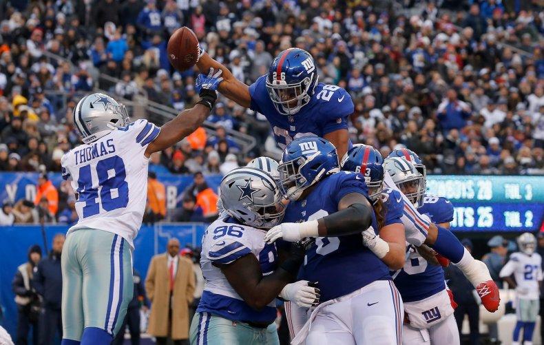 New York Giants, Dallas Cowboys