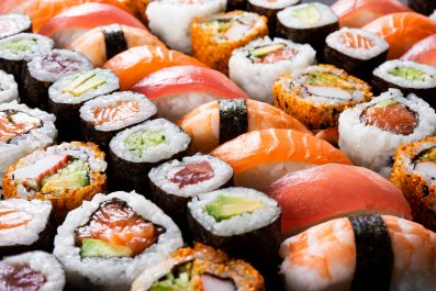 sushi, maki, japanese, stock, getty, food