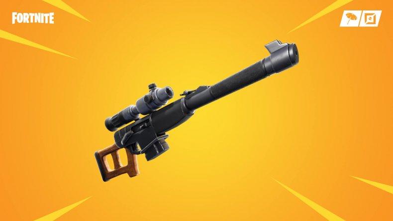 fortnite automatic sniper rifle update