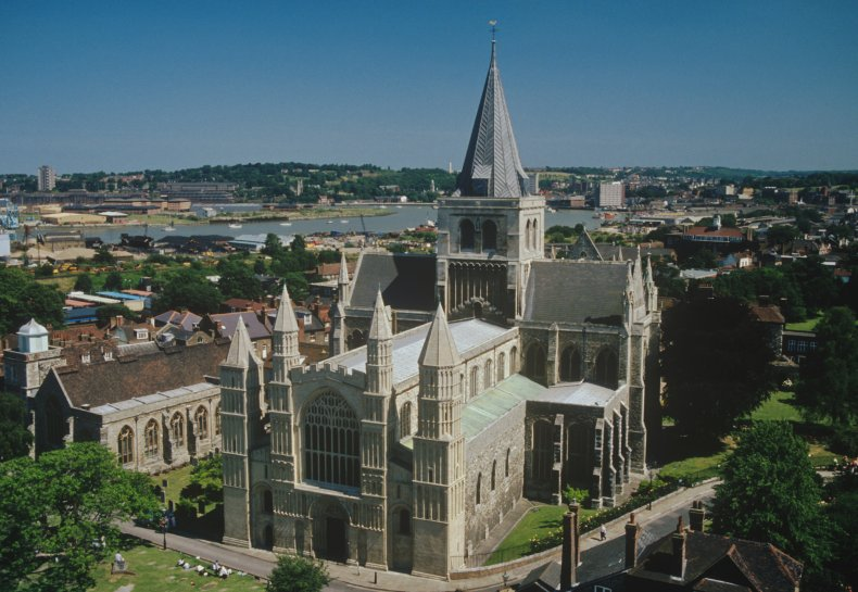 Rochester Cathedral miniature golf