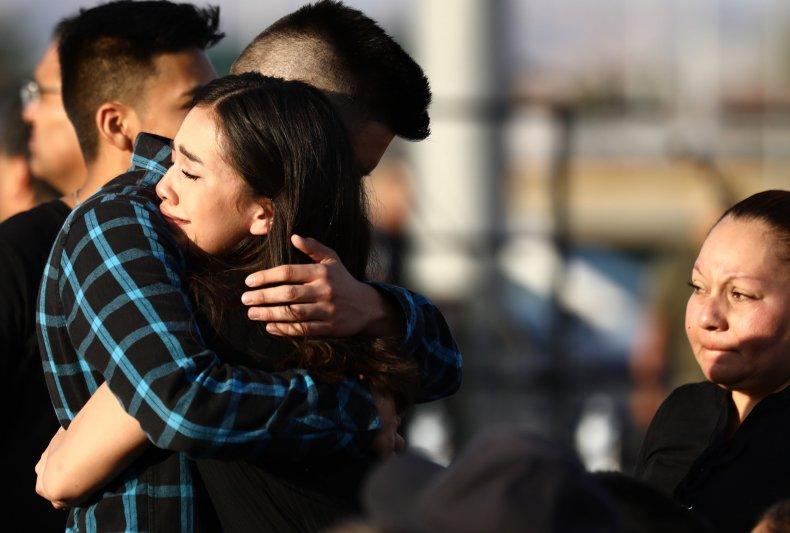 Horizon High School vigil