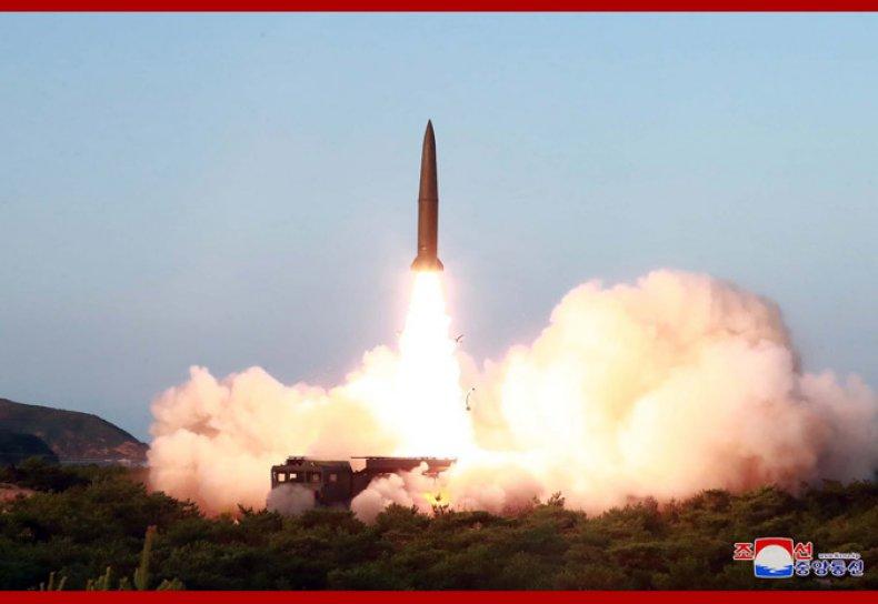 north korea missile test july