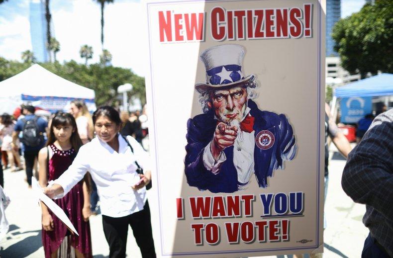 Immigrant vote
