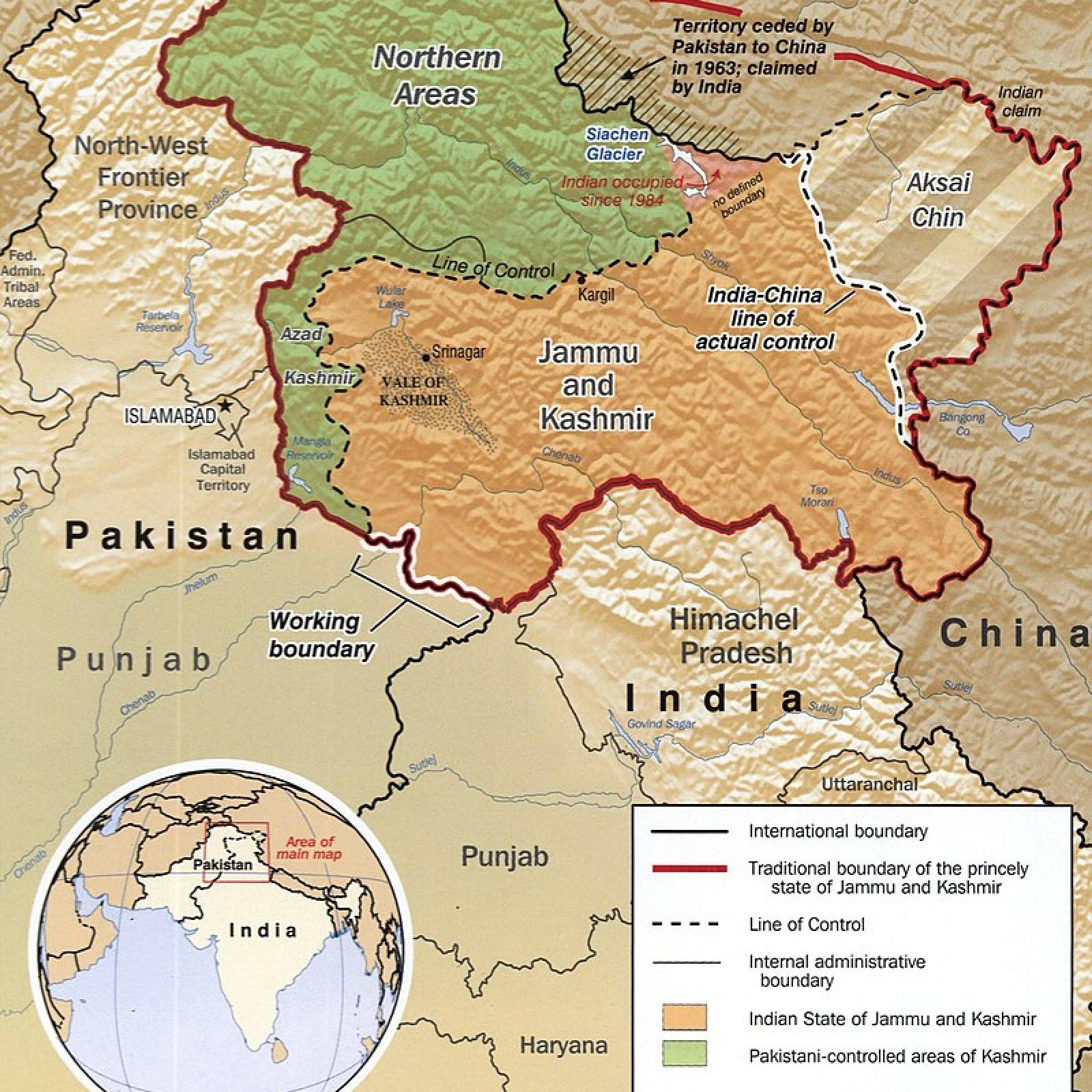 China and Pakistan Warn India After 'Unacceptable' Border