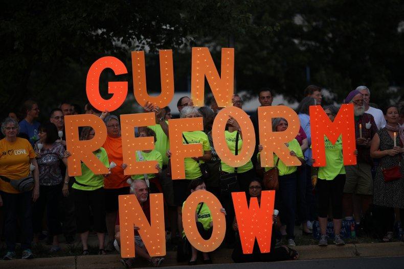 Gun Reform protesters