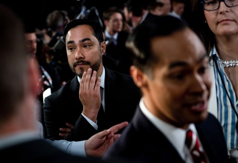 Joaquin Castro Trump donor list