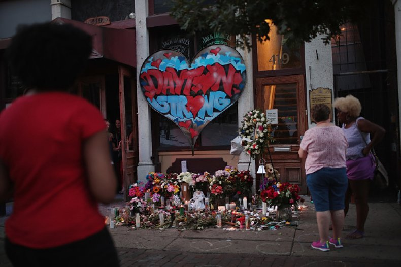 dayton strong mural mass shooting