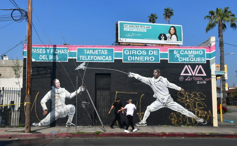 Little Armenia Los Angeles mural
