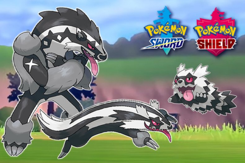 pokemon sword shield galar forms zigzagoon