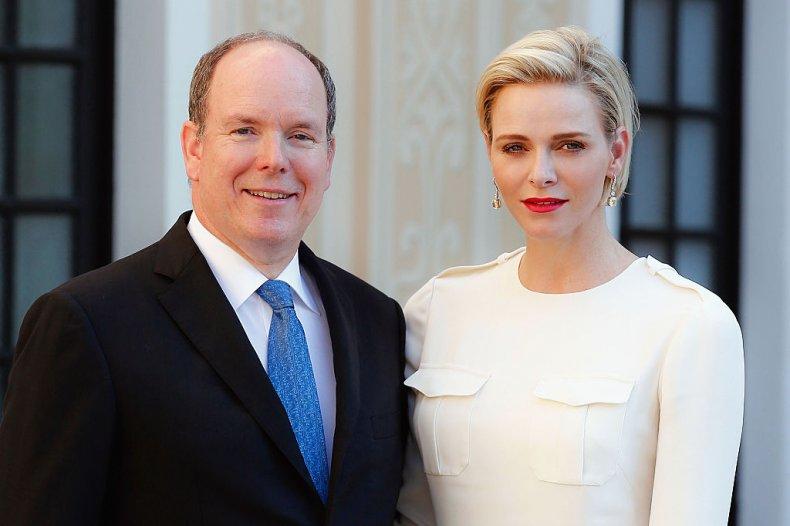 Prince Albert and Charlene