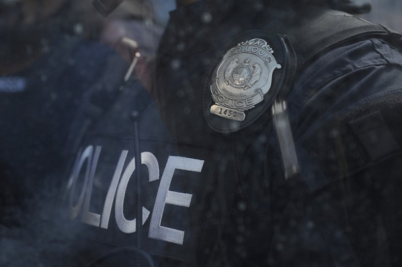 st. louis police force white supremacy