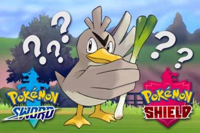 pokemon sword shield farfetcd evolution