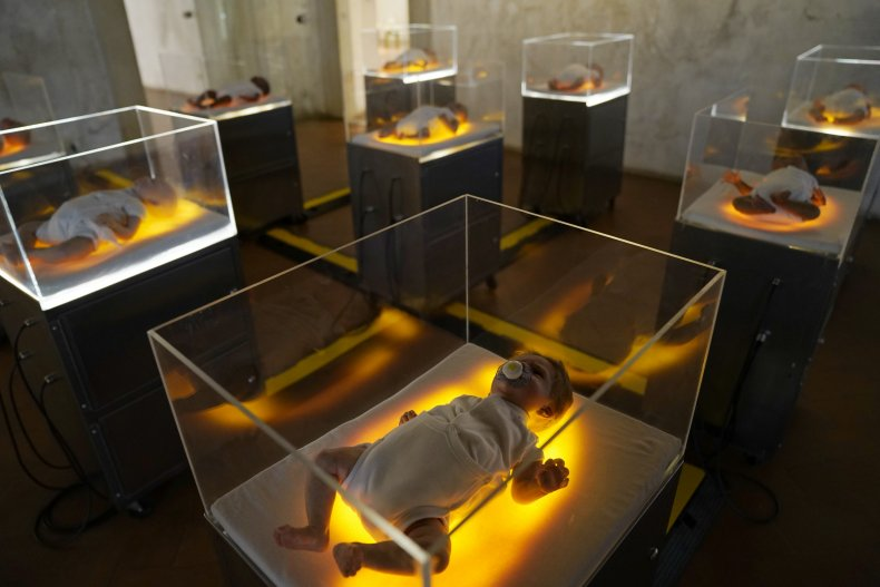 """""""the Perfect Baby"""" installation"""