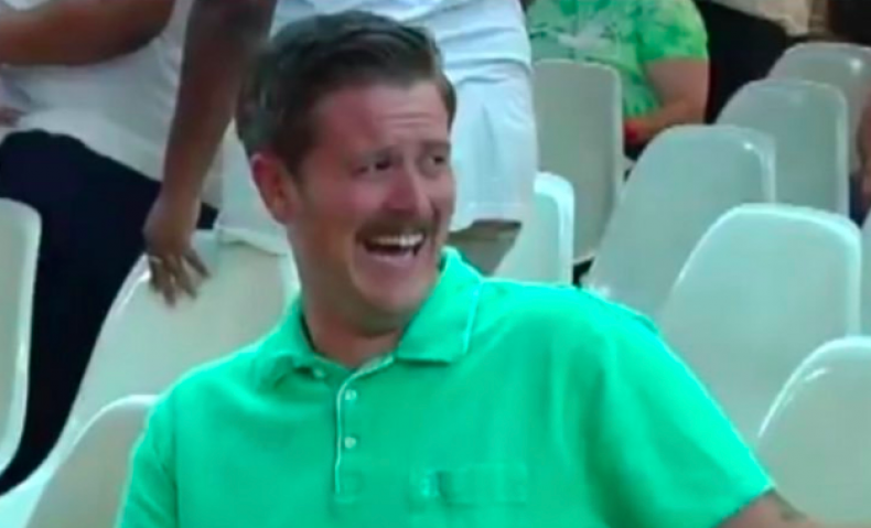 Who is Alex Kack? #GreenShirtGuy hysterically laughing at Trump supporters goes viral