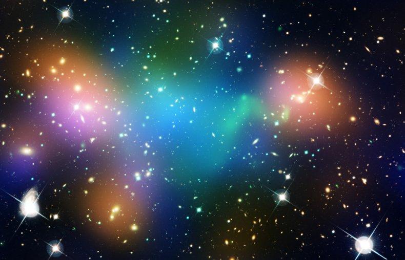 dark matter, universe, galaxies